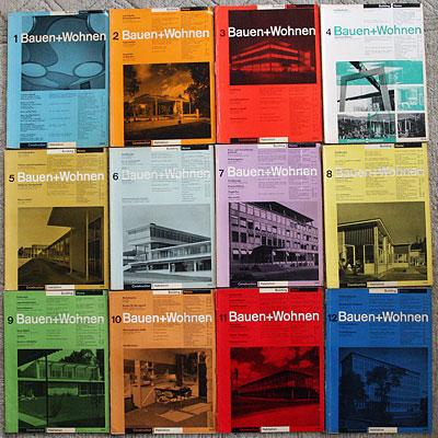 Wohnen Magazine felix books pütz bauen wohnen 1952 1 12 wiedler ch